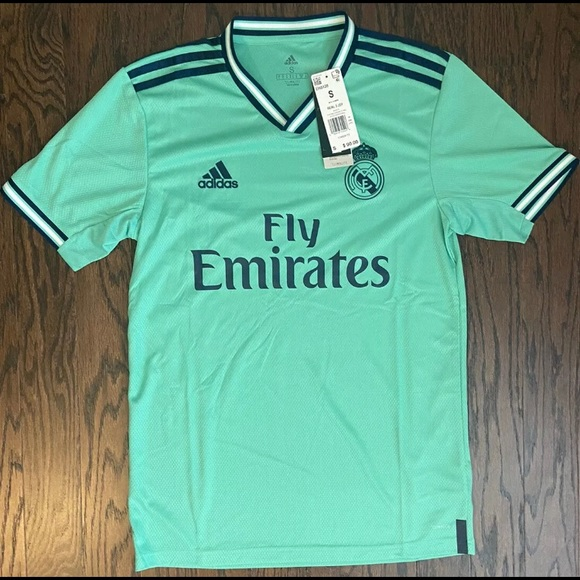 New Authentic Adidas Real Madrid Soccer Jersey